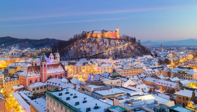 Zimná Ljubljana