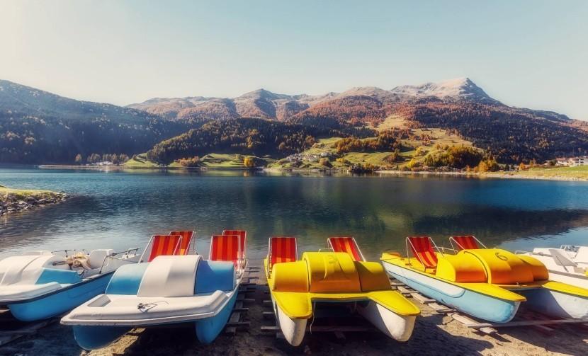 Šlapadlá pri Lago di Resia