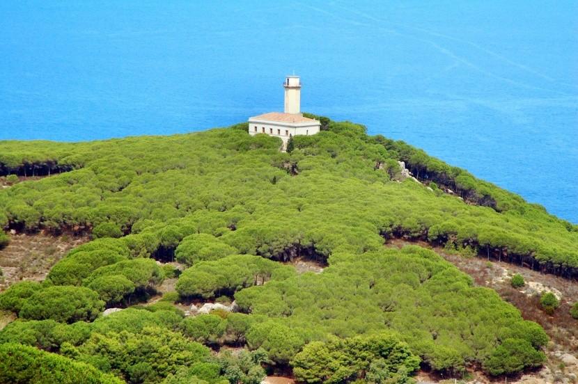 Maják na ostrove Giglio