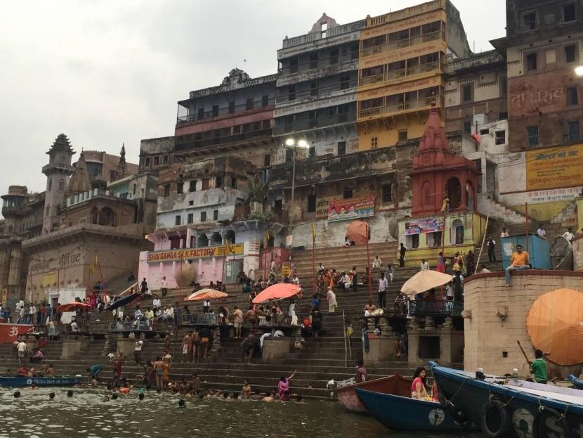 Kúpele v Gange