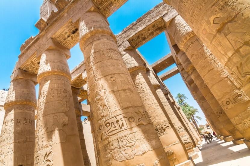 Chrám Karnak v Luxore