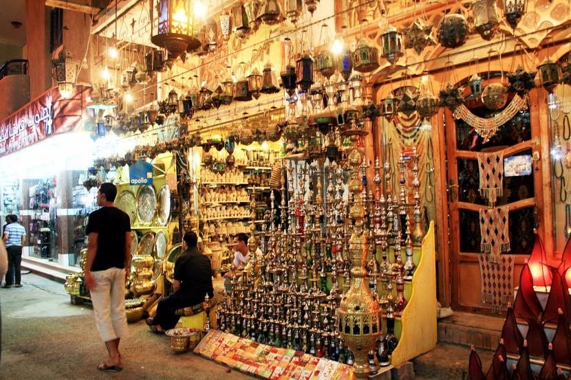Nákupy v Hurghade