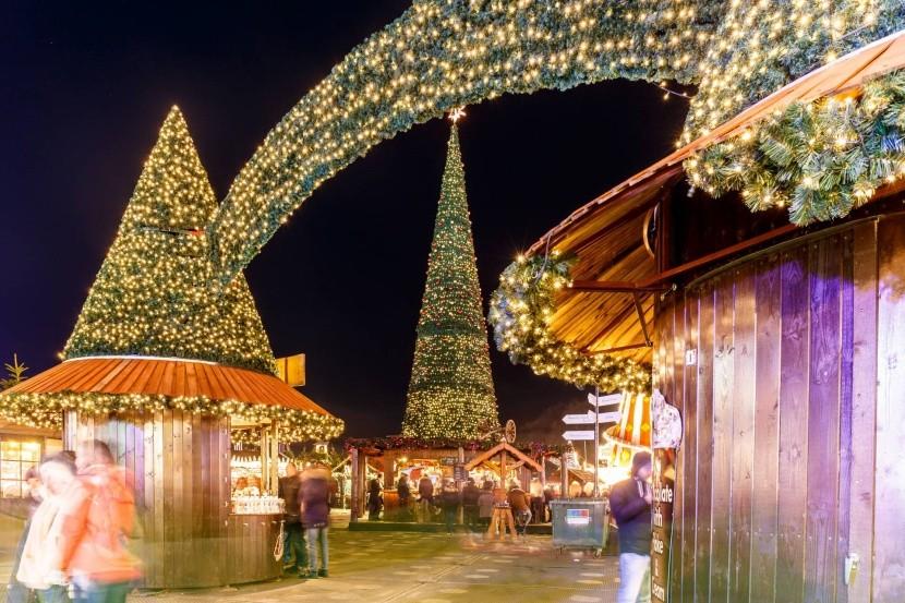 Vianočné trhy v Hyde Parku