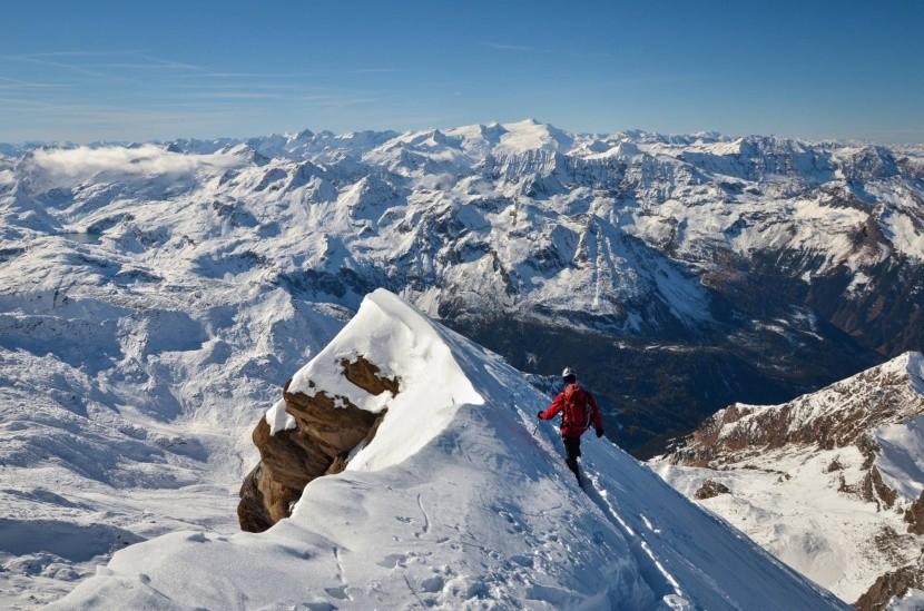 Kitzsteinhorn, 3203 m n.m.
