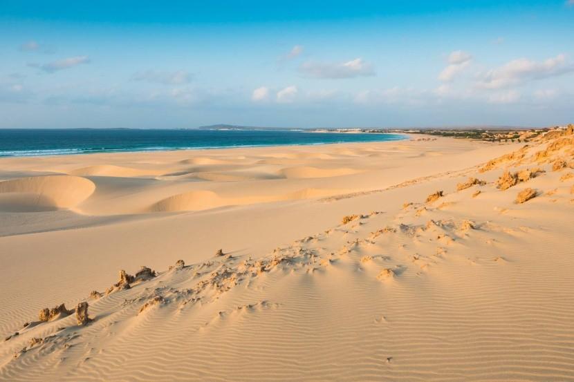 Pláž Praia de Chaves, Boa Vista