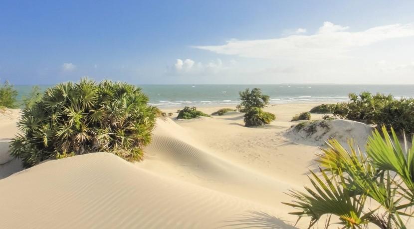 Pláž Shela, Lamu, Keňa