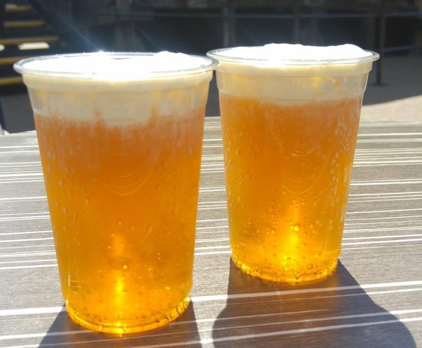 Ďatelinové pivo z Rokwille