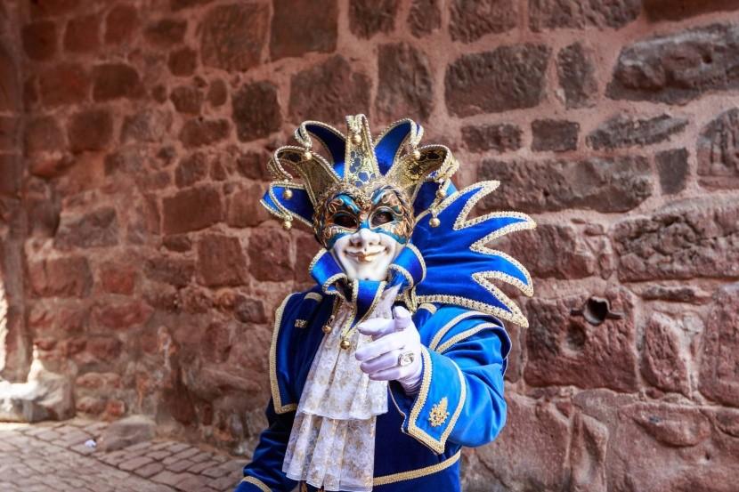 Benátsky karneval v Riquewihru