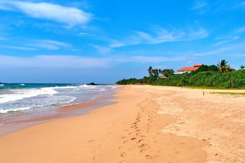 Pláž Bentota, Srí Lanka