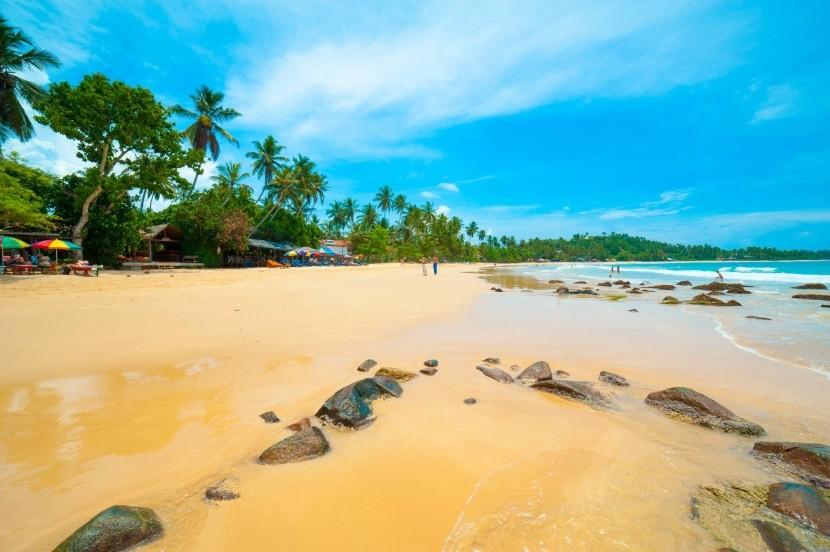 Pláž Mirissa, Srí Lanka