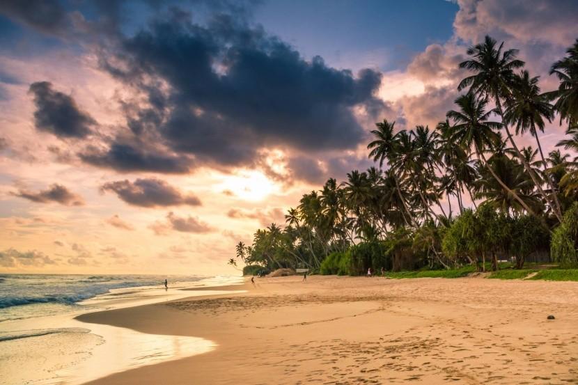 Pláž Unawatuna, Srí Lanka
