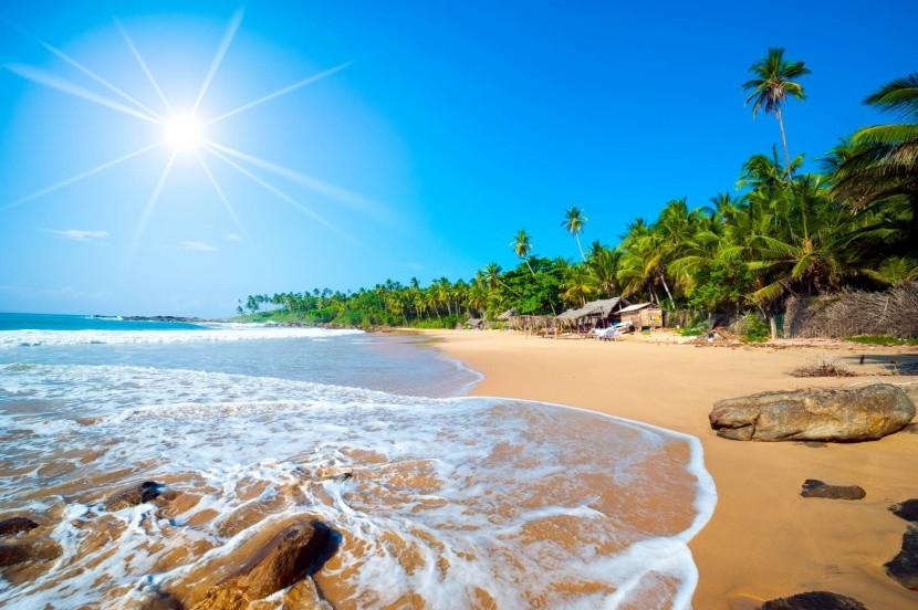 Najkrajšie pláže Srí Lanky