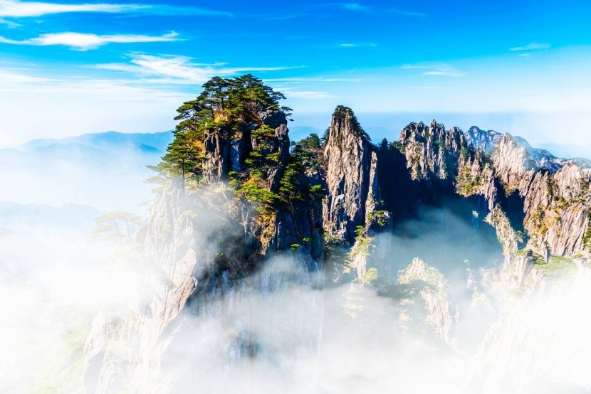 Chuang-šan, Žlté hory