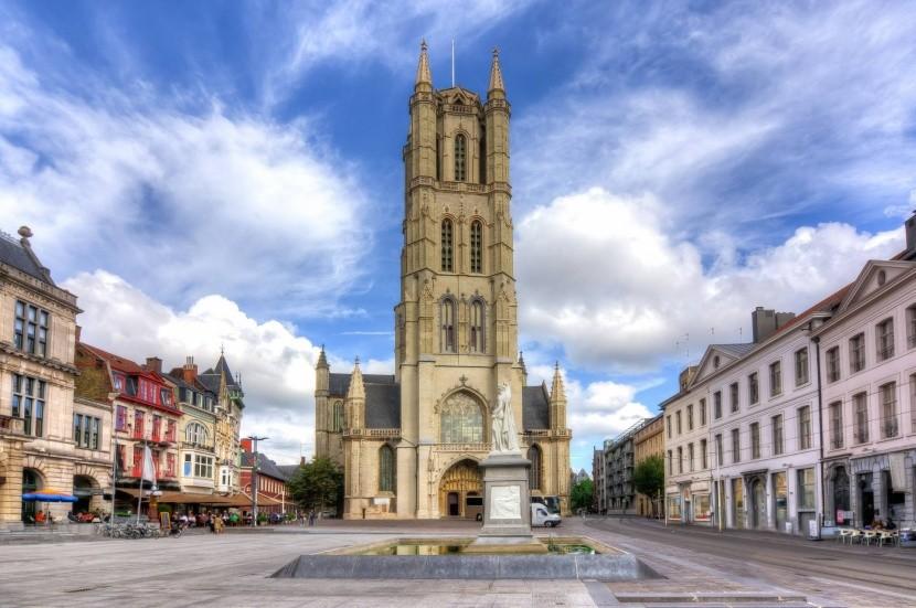 Katedrála sv. Bavona v Gente