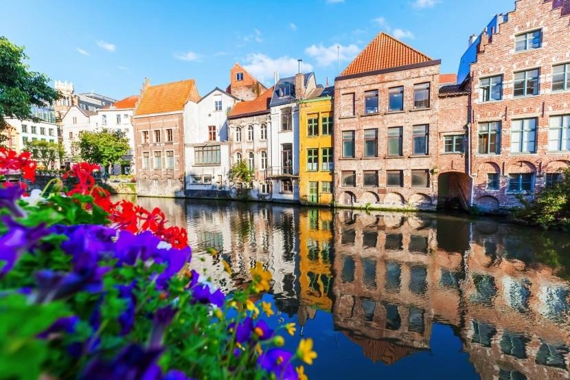 Vodný kanál v Gente