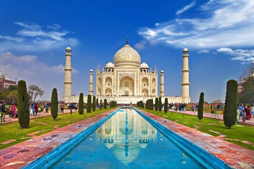 Tádž Mahal (Ágra, India)