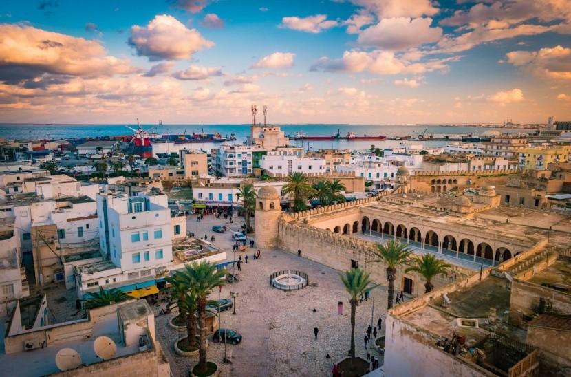 Západ slnka v Sousse