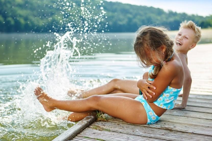 Osviežte sa v jazere Teichalmsee