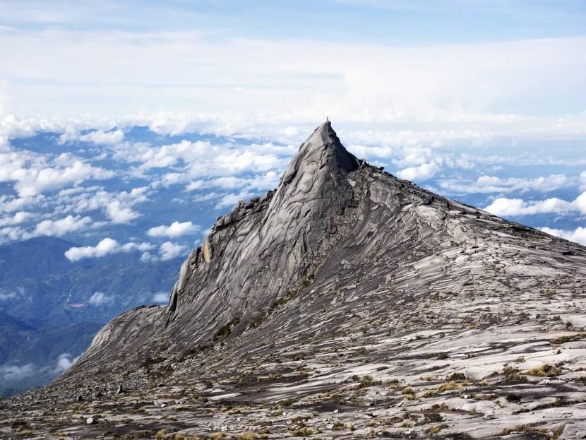 Kinabalu, najvyššia hora Bornea