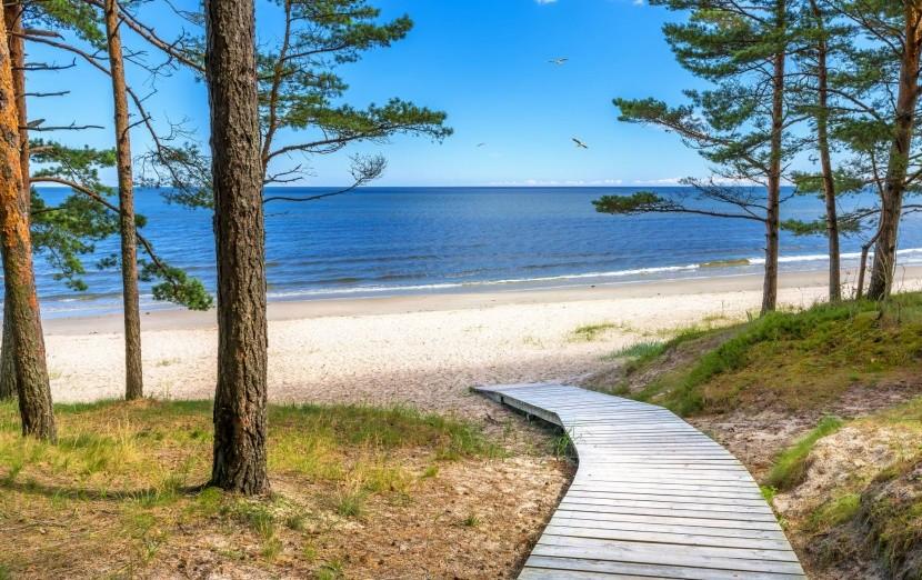 Pláž Jūrmala, Lotyšsko