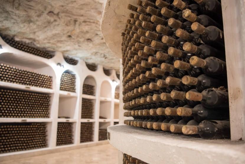 Vínne pivnice Cricova v Moldavsku