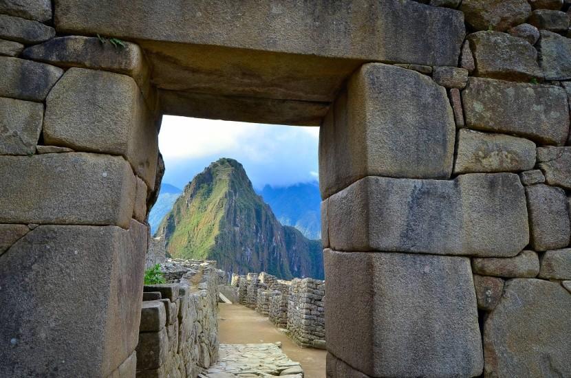 Vstupná brána do Machu Picchu