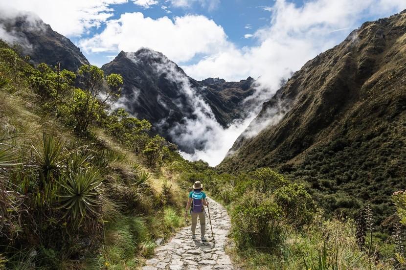 Starodávny inkský chodník k Machu Picchu