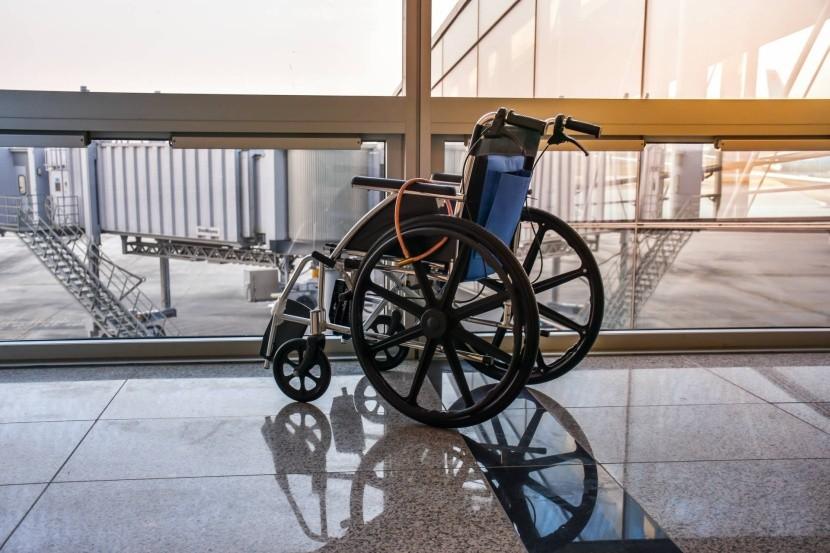 Na letisku je možné zabezpečiť vozík