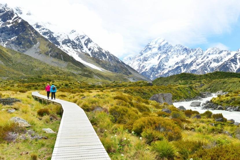 Národný park Aoraki Mount Cook