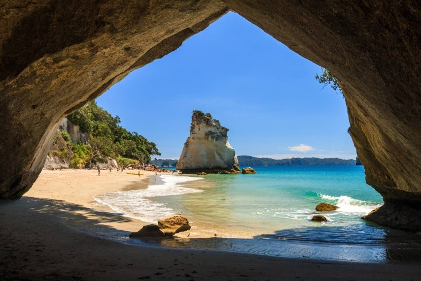 Jaskyňa Cathedral Cove