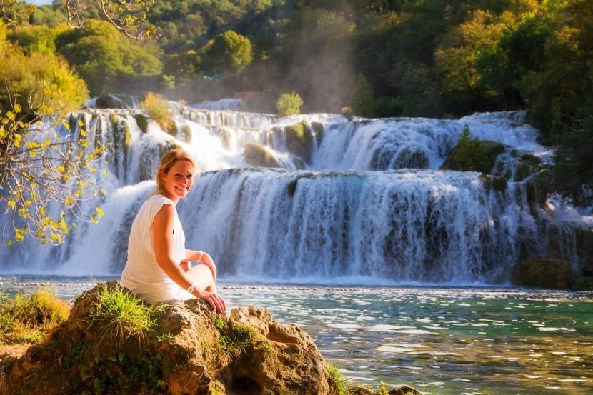 Národný park Krka v Chorvátsku