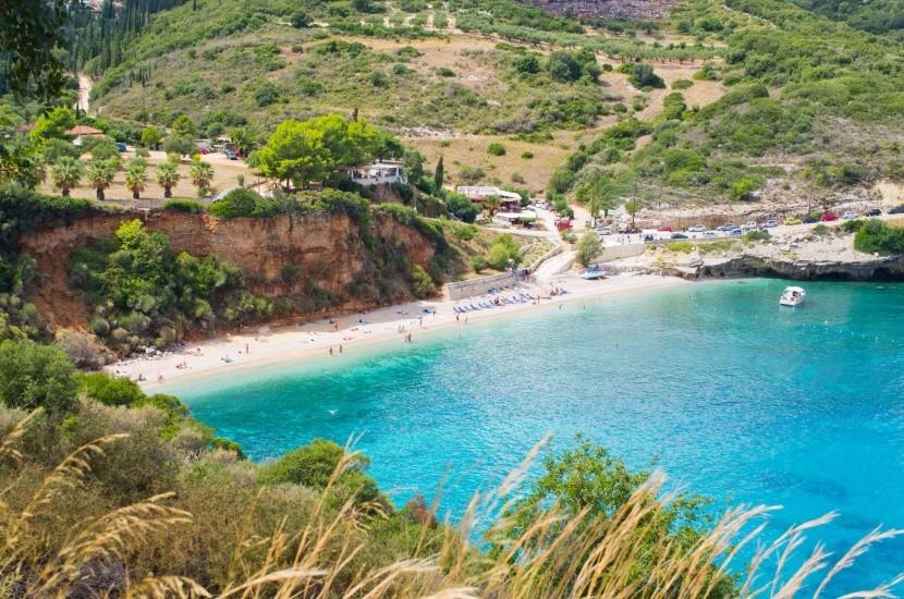 Pláž Makrys Gialos, Zakynthos
