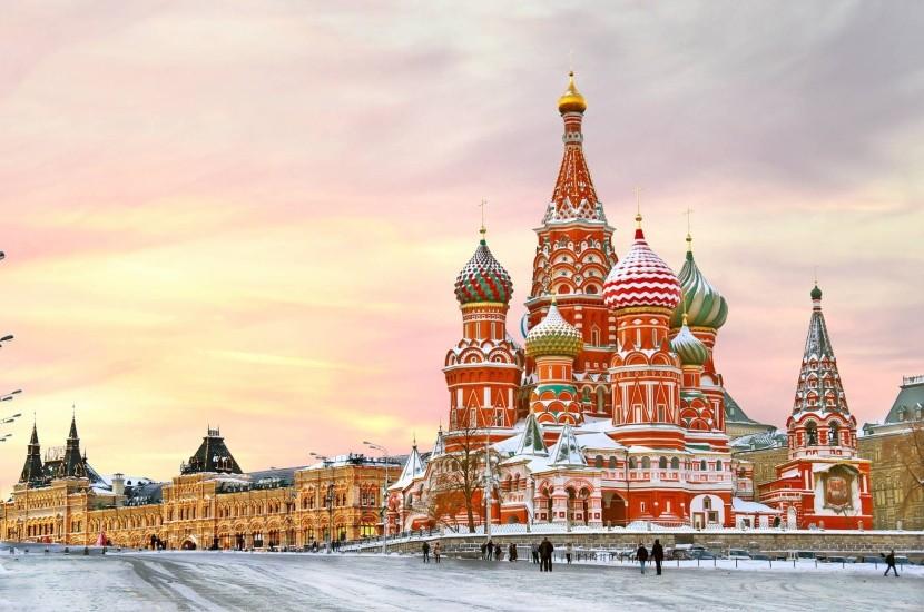 Červené námestie v Moskve