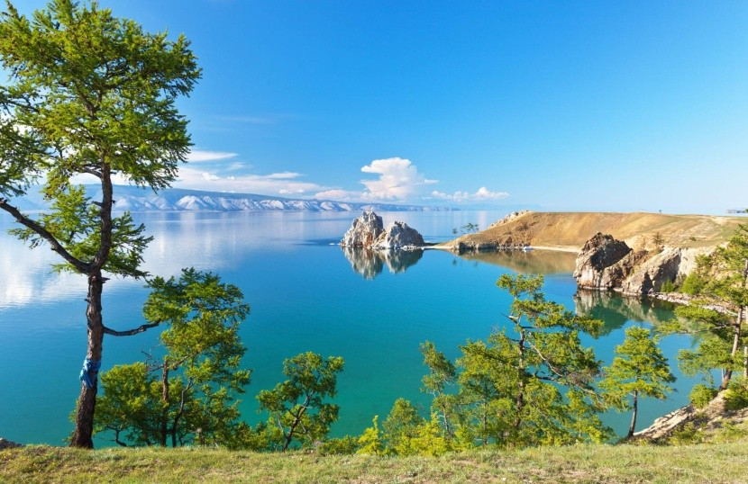 Jazero Bajkal v Rusku