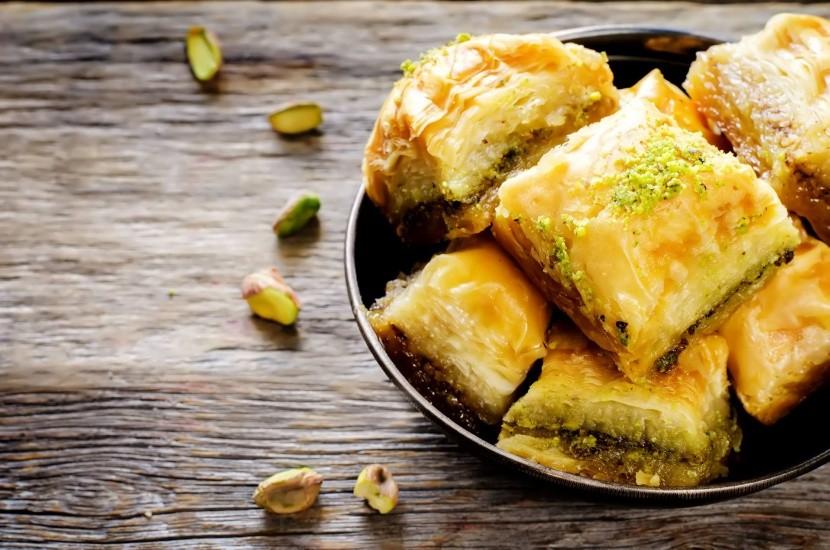 Grécky dezert baklava