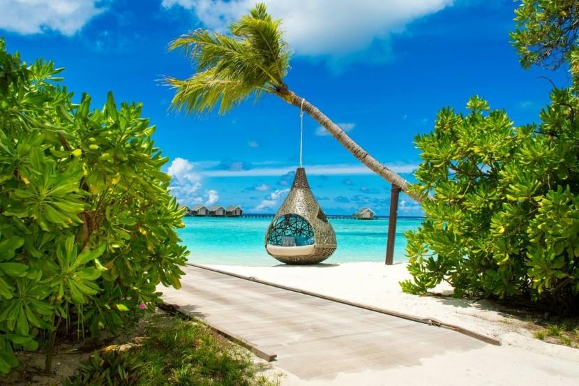 Oddýchnite si na Maldivách