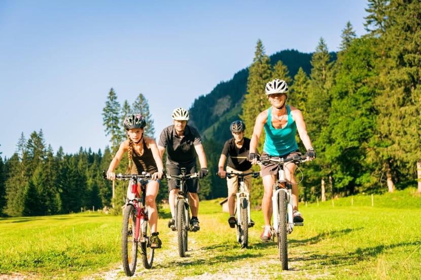Rakúskom na bicykli