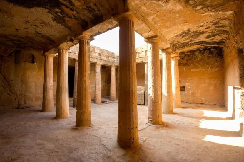 Kráľovské hrobky v Pafose