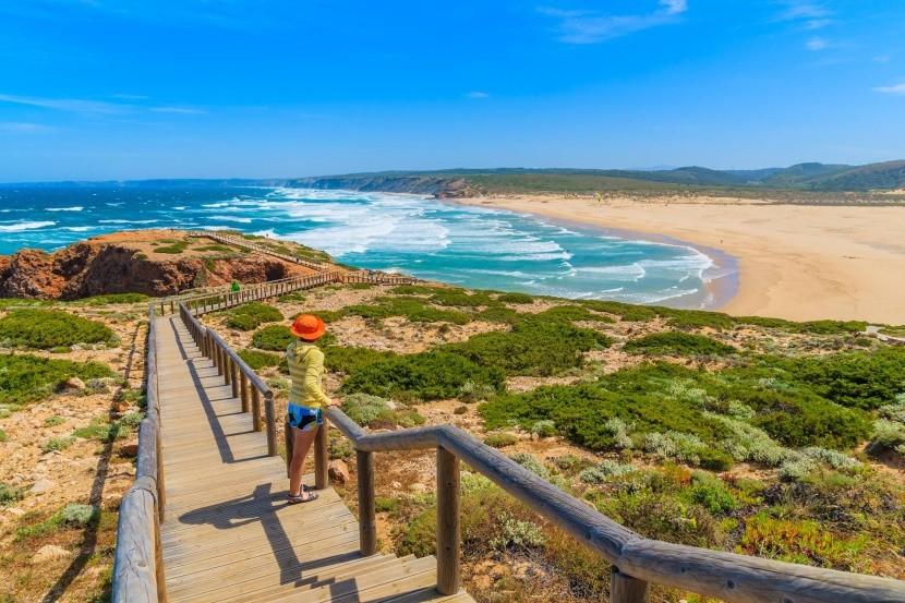 Praia de Bordeira, Portugalsko