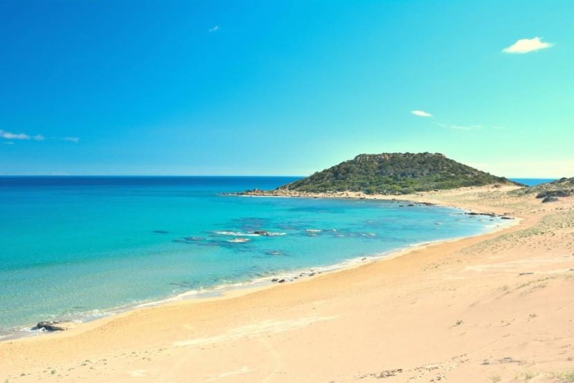 Pláž Golden Beach, Cyprus