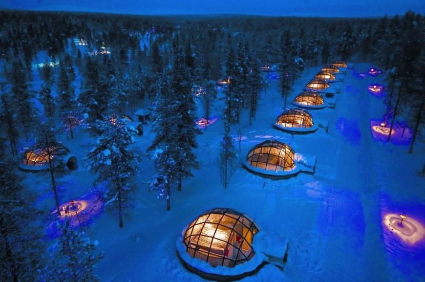 Kakslauttanen Arctic Resort, Fínsko