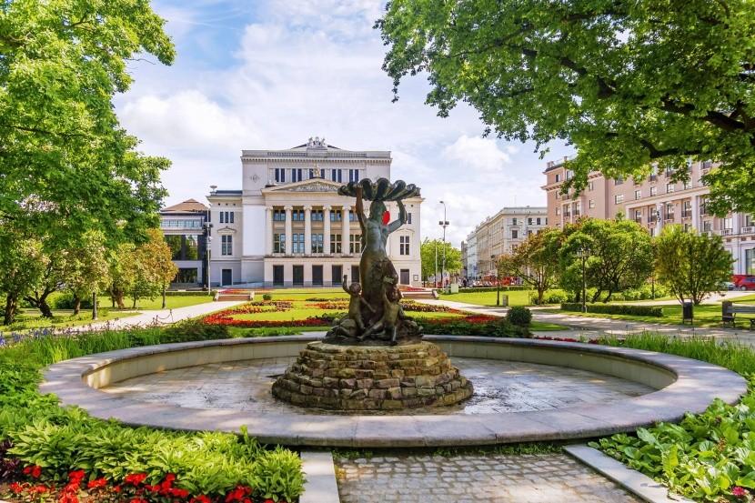 Záhrady Vērmanes, Riga