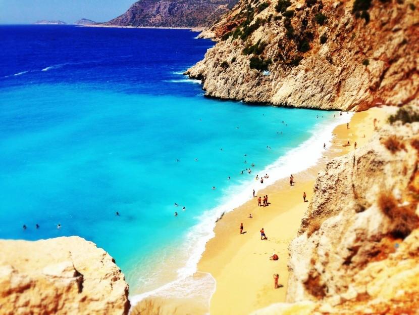 Pláž Kaputas (Kas)