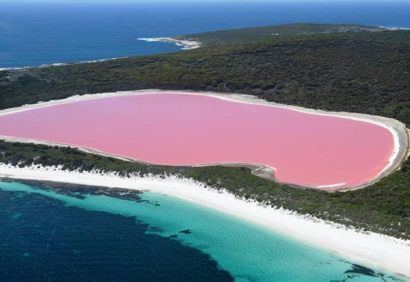 Jezero Hillier, Austrália