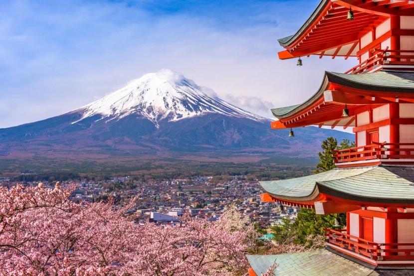 Sopka Fudži, Japonsko