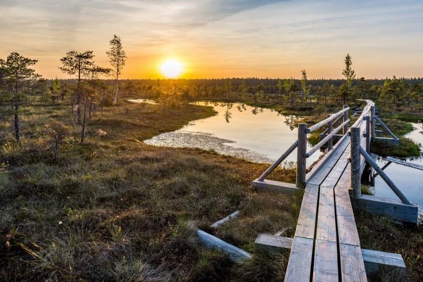 Národný park Kemeri, Lotyšsko