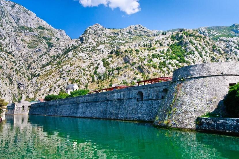 Mestské hradby, Kotor