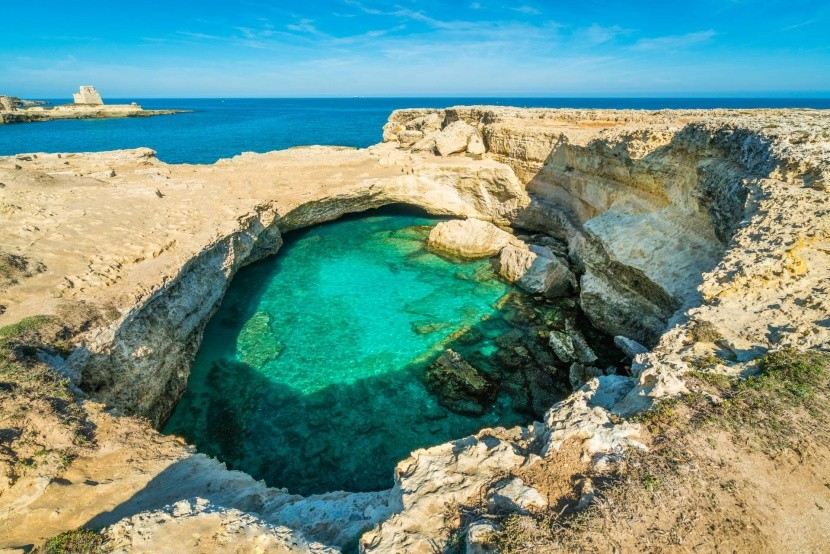 Grotta della Poesia (Taliansko, Apulie)