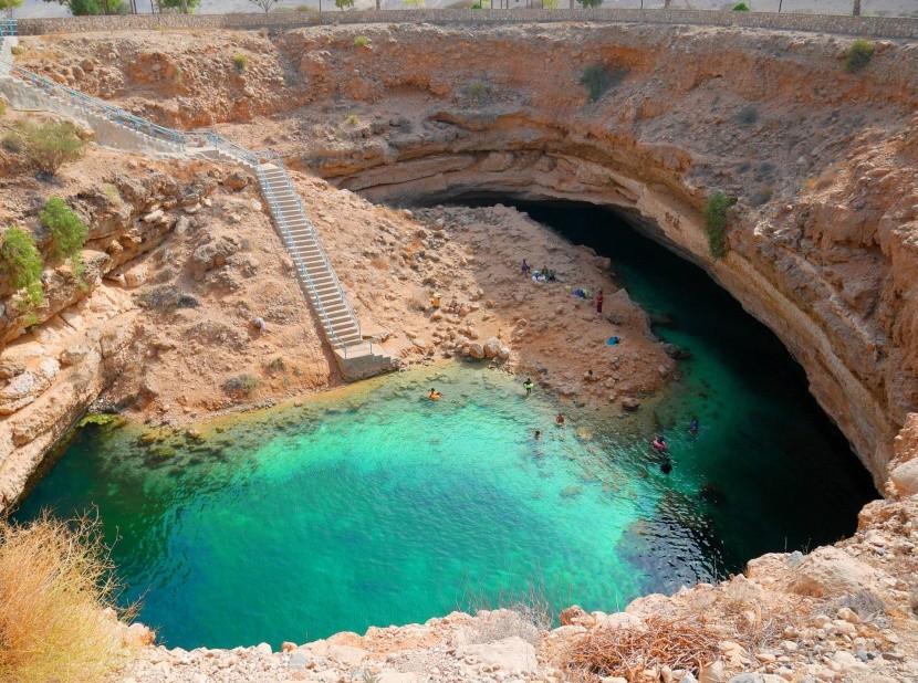 Bimmah Sinkhole (Omán)