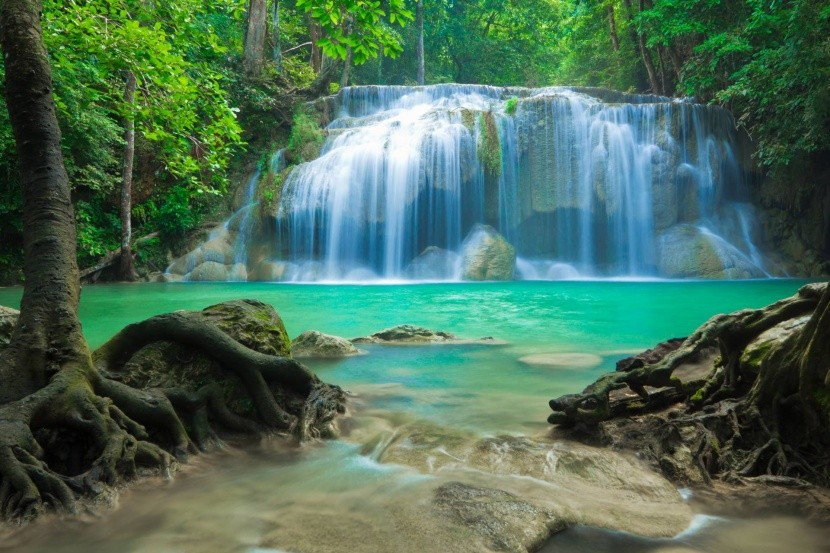 Erawan Falls (Thajsko)
